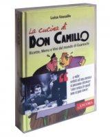 """Cofanetto """"La cucina di Don Camillo.Ricette, menu e vini dal mondo di Guareschi - Don Camillo, un pastore con l'odore delle pecore"""" - Luisa Vassallo, Egidio Bandini"""