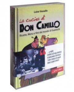 """Copertina di 'Cofanetto """"La cucina di Don Camillo.Ricette, menu e vini dal mondo di Guareschi - Don Camillo, un pastore con l'odore delle pecore""""'"""