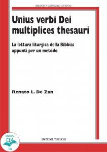 Copertina di 'Unius verbi Dei multiplices thesauri'