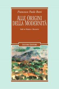 Copertina di 'Alle origini della modernità'