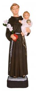 Copertina di 'Statua da esterno di Sant'Antonio in materiale infrangibile, dipinta a mano, da circa 16 cm'