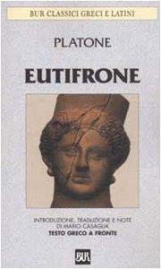 Copertina di 'Eutifrone. Testo greco a fronte'