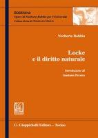 Locke e il diritto naturale - Bobbio Norberto