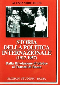 Copertina di 'Storia della politica internazionale (1917-1957)'
