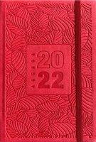 Agenda settimanale pocket 2022 rossa