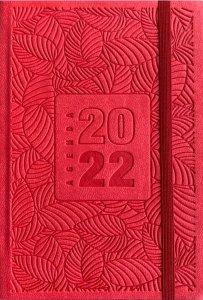 Copertina di 'Agenda settimanale pocket 2022 rossa'