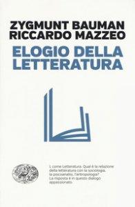 Copertina di 'Elogio della letteratura'