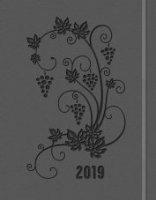 Agenda settimanale planning 2019 grigia