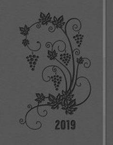Copertina di 'Agenda settimanale planning 2019 grigia'
