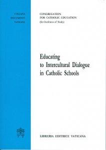 Copertina di 'Educating to Intercultural Dialogue in Catholic Schools.'
