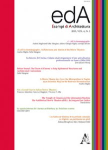 Copertina di 'EDA. Esempi di architettura 2019. International journal of architecture and engineering. Vol. 6/1'