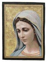 """Arazzo sacro """"Madonna di Medjugorje"""" - dimensioni 42x32 cm"""