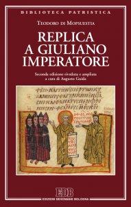 Copertina di 'Replica a Giuliano imperatore'