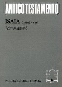 Copertina di 'Isaia. Capitoli 40-66'