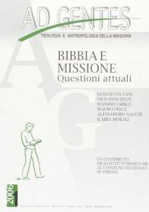 Copertina di 'Ad gentes. Bibbia e missione. Questioni attuali'