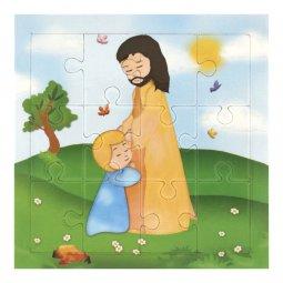 """Copertina di 'Mini puzzle """"Confessione"""" per bambini - 12 pezzi'"""