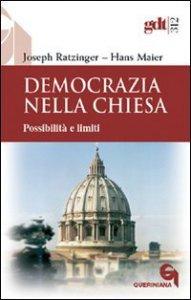 Copertina di 'Democrazia nella Chiesa. Possibilità e limiti (gdt 312)'