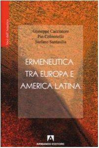 Copertina di 'Ermeneutica tra Europa e America Latina'