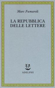 Copertina di 'La Repubblica delle Lettere'