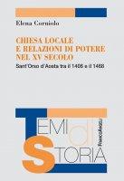 Chiesa locale e relazione di potere nel XV secolo - Elena Corniolo