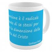 """SpiriTazza """"La conversione"""" (Gianfranco Ravasi) - Mod. Celeste - Gianfranco Ravasi"""