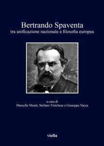 Copertina di 'Bertrando Spaventa'