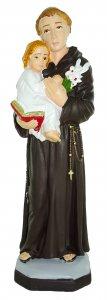 Copertina di 'Statua da esterno di Sant'Antonio in materiale infrangibile, dipinta a mano, da circa 20 cm'