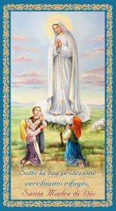 """Copertina di 'Benedizione della famiglia """"Madonna di Fatima"""" (10 pezzi)'"""