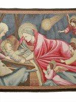 """Arazzo sacro """"Natività"""" - dimensioni 64x92 cm - Giotto"""