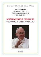 Matrimonio e famiglia secondo il disegno di Dio - Francesco,  Benedetto XVI,  Giovanni Paolo II, Paolo VI
