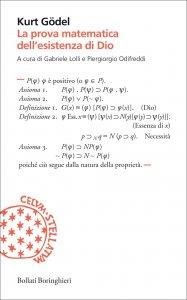 Copertina di 'La prova matematica dell'esistenza di Dio'
