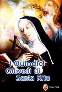 Copertina di 'I quindici giovedì di santa Rita'