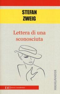 Copertina di 'Lettera di una sconosciuta'