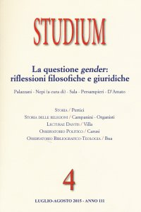 Copertina di 'Rivista Studium (2015) vol.4'