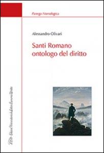 Copertina di 'Santi Romano ontologo del diritto'