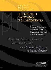 Copertina di 'Il Concilio Vaticano I e la modernità'