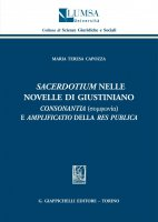 Sacerdotium nelle Novelle di Giustiano - Maria Teresa Capozza