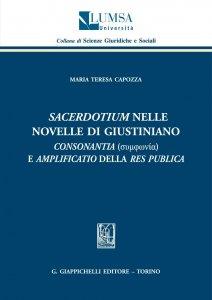 Copertina di 'Sacerdotium nelle Novelle di Giustiano'