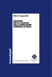 Copertina di 'Proposte per lo sviluppo della formazione continua in Italia'