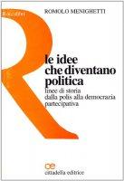 Le idee che diventano politica. Linee di storia dalla polis alla democrazia partecipativa - Menighetti Romolo