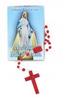 """Libretto """"Il Santo Rosario"""" della Madonna Miracolosa e rosario"""