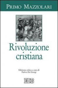 Copertina di 'Rivoluzione cristiana'