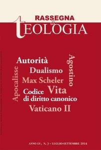 Copertina di 'Rassegna di Teologia n. 3/2014'
