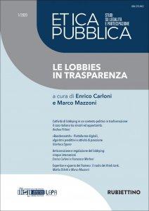 Copertina di 'Etica Pubblica 1/2020 - Studi su legalità e partecipazione'