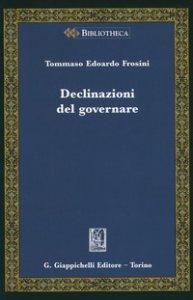 Copertina di 'Declinazioni del governare'