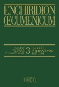 Copertina di 'Enchiridion Oecumenicum. 3'