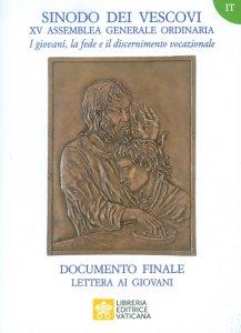 Copertina di 'I giovani, la fede e il discernimento vocazionale. Documento finale'