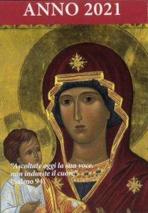 Copertina di 'Calendario liturgico dell'ascolto 2021. Madonna Odigitria'