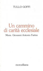 Copertina di 'Un cammino di carità ecclesiale. Mons. Giovanni Antonio Farina'