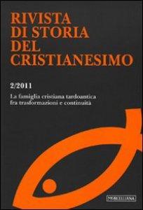 Copertina di 'Rivista di storia del cristianesimo (2011)'